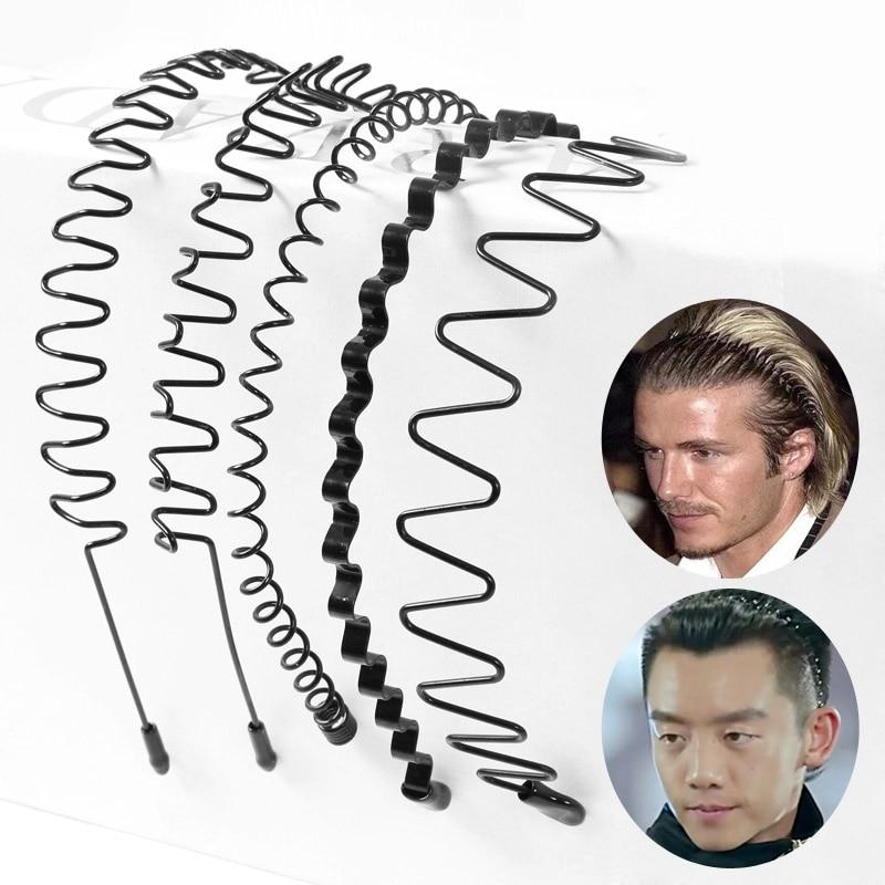 Men's Models Women's Wavy Headbands Plastic Headbands Washing Clips Wide Fine Hairpins People's Basic Models 9 Models