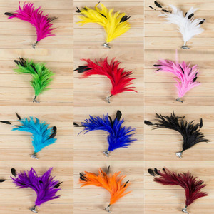 Feather Corsage Hair Clip Wome