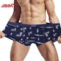 Mnk tamaño grande hombres underwear boxeadores de los hombres de fibra de bambú super suave cortocircuitos más el tamaño 4xl 5xl 6xl mens underwear boxers para grasa chicos