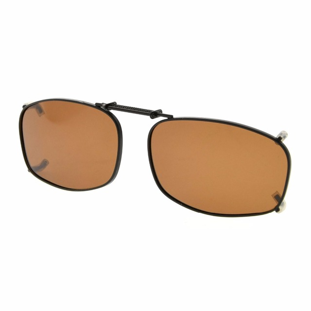235c08d810 C79 Eyekepper Metal Frame Rim Polarized Lens Clip On Sunglasses 50x31mm