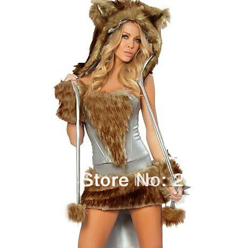 Popular Wolf Girl Costume Buy Cheap Wolf Girl Costume Lots  sc 1 st  Meningrey : girls wolf costumes  - Germanpascual.Com