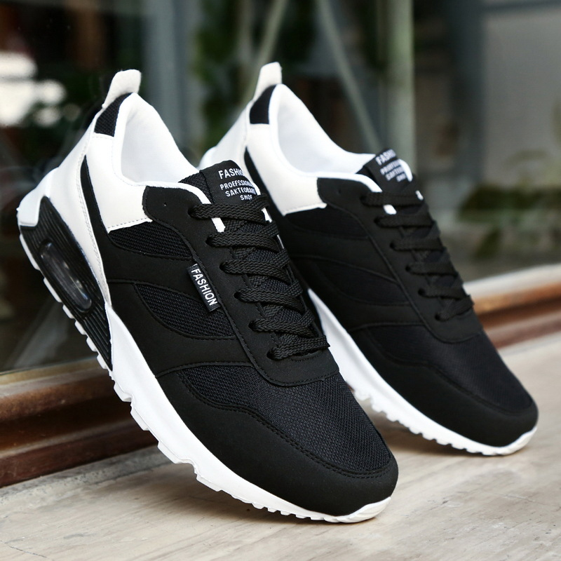 Hommes chaussures de mode lumière mesh respirant chaussures hommes sneakers hommes casual chaussures