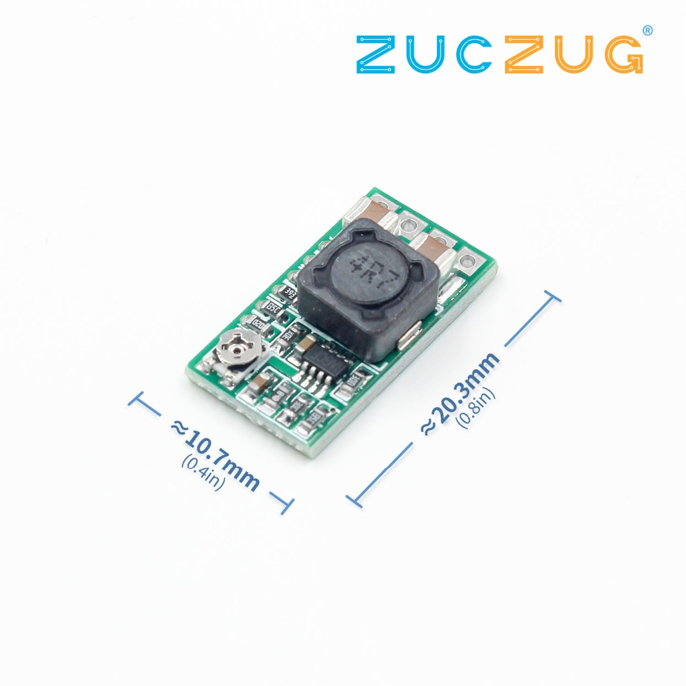 1PCS Mini DC-DC 12-24V To 5V 3A Step Down Power Supply Module Voltage Buck Converter Adjustable 97.5% 1.8V 2.5V 3.3V 5V 9V 12V image