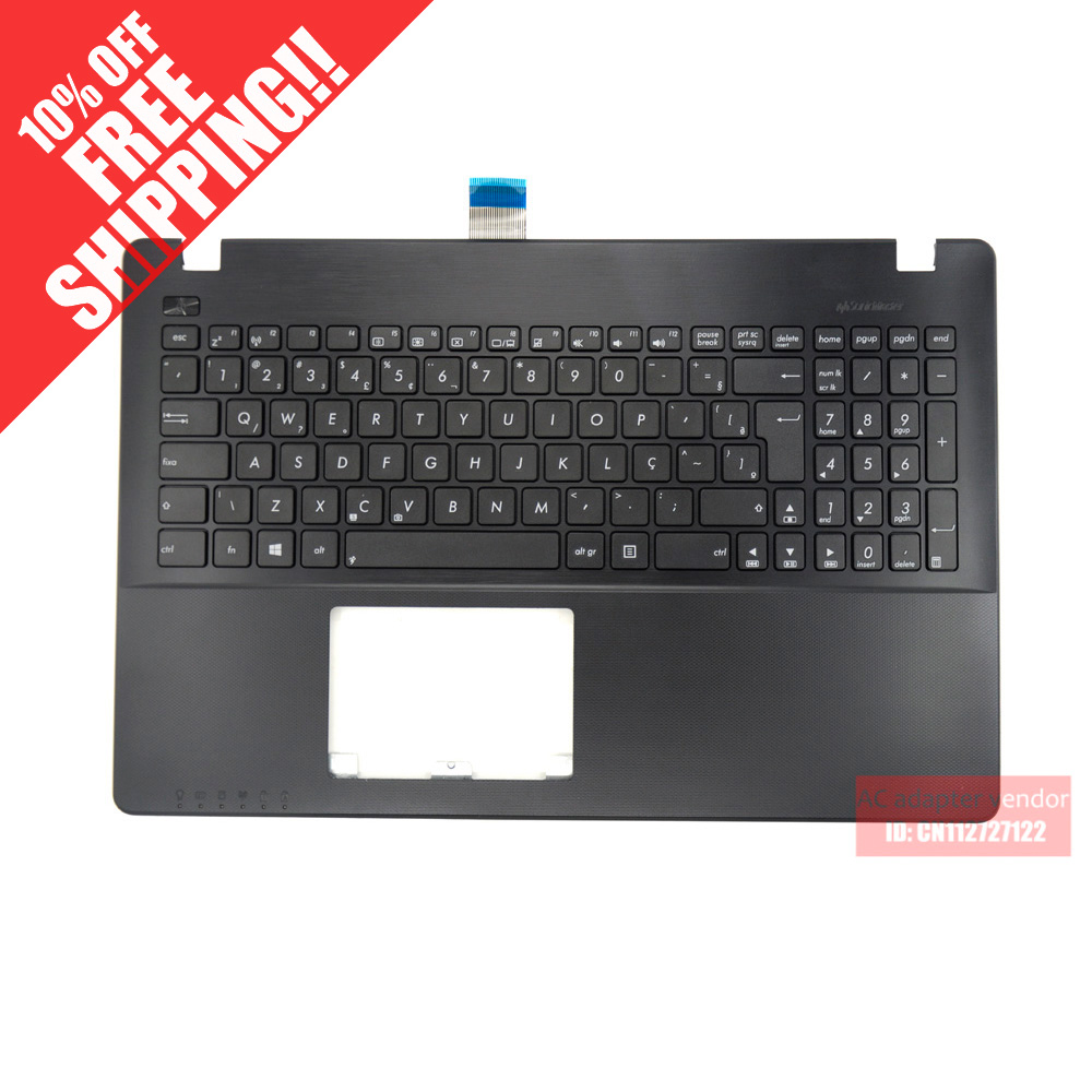 FOR ASUS X550 X552 X550ZE X550CA X550JD A550V R510V C shell palmrest with keyboard