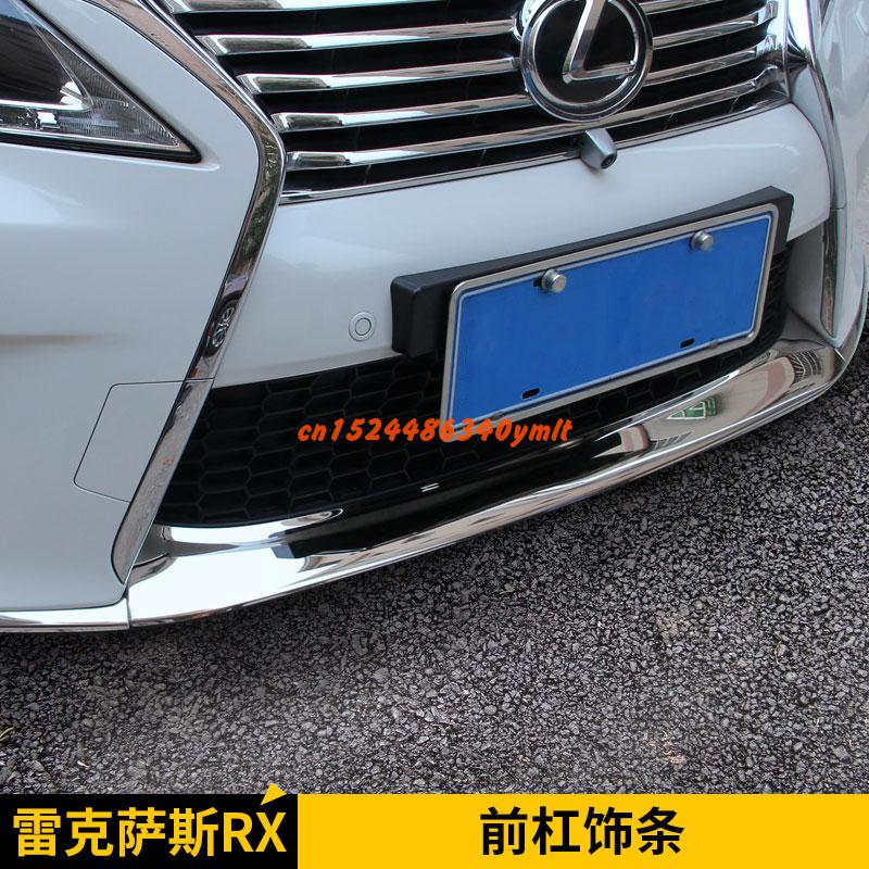High-quality stainless steel Front Grille Around Trim Racing Grills Trim For Lexus RX270 RX350 RX450  Car-stylingHigh-quality stainless steel Front Grille Around Trim Racing Grills Trim For Lexus RX270 RX350 RX450  Car-styling