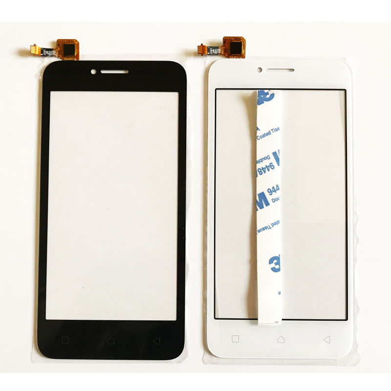 Touch Screen For Lenovo Vibe B A2016a40 A2016 Digitizer Touch Panel Front Glass Repair Part, Black/White