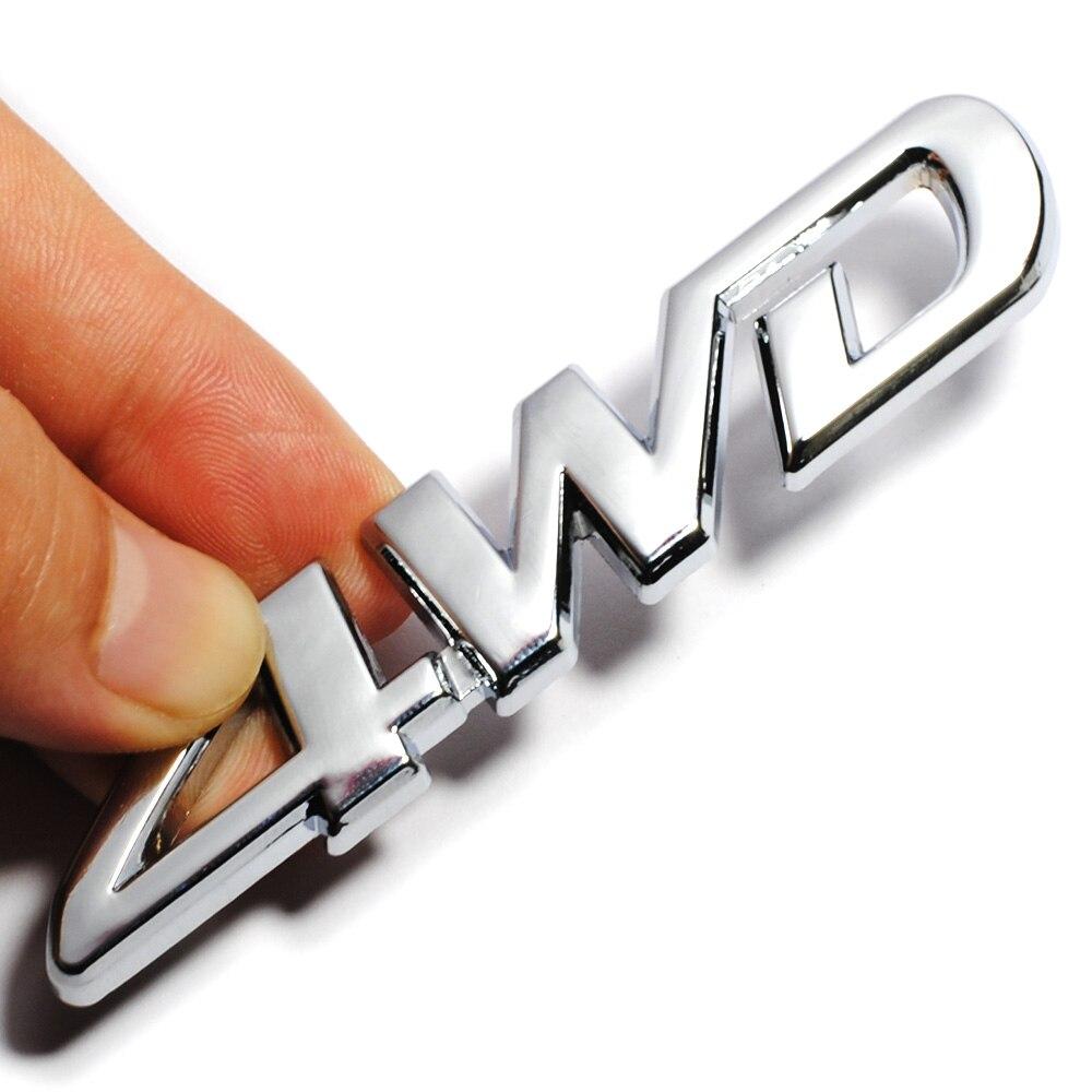 Image 5 - 3D хромированный металл Стикеры 4WD Эмблема 4X4 переводная картинка автомобильный Стайлинг для Honda Civic CRV соглашение Защитные чехлы для сидений, сшитые специально для Suzuki Grand Vitara Swift SX4 Стикеры-in Наклейки на автомобиль from Автомобили и мотоциклы