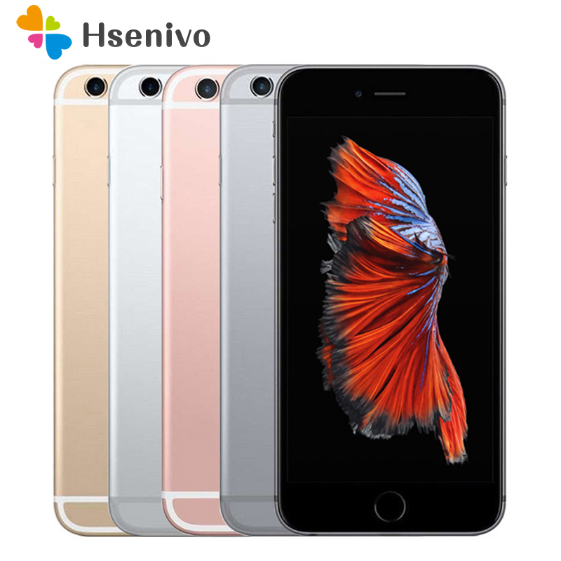 DHL Free shipping original Factory Grade A quality unlocked Used iPhone 6s 16GB 64GB 128GB cellphone 4G LTE 6s Plus image