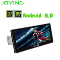 JOYING latest car radio Android 8.0 4GB RAM 10.25'' Touch Screen PX5 Octa Core 1 din Support iPhone Zlink GPS Wifi BT Multimedia