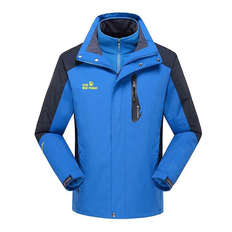 Men's Fleece Jackets Waterproof Winter Heated Jackets Thermal Heating Clothing Skiing Coat Men Hiking Jacket L-5XL Skisjakke