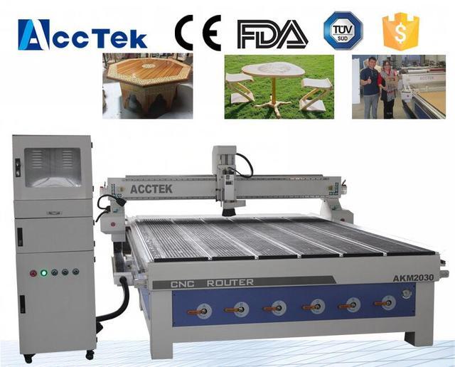 Furniture machinery woodworking 3d cnc wood milling machine 2030 cnc wood router machine