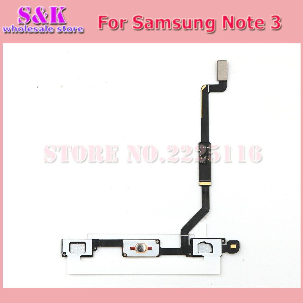 (100 pcs/lot) home button flex cable keypad sensor ribbon