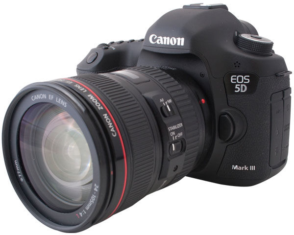 Canon EOS 5D Mark III DSLR Camera with EF 24 - 105mm F4 L IS USM Lens Kit ...