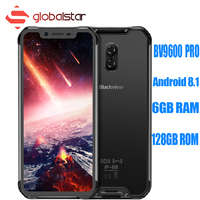 Blackview BV9600 PRO мобильного телефона Android 8,1 6 ГБ Оперативная память 128 ГБ Встроенная память 5580 мАч 6,21 дюйма TYPE C NFC IP69K водонепроницаемый смартфон с