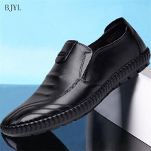 BJYL 2019 new spring autumn mens flat shoes casual lightweight comfortable non-slip fashion sneakers B176
