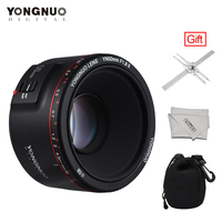 YONGNUO YN50mm Lens YN50mm F1.8 II Large Aperture Auto Focus Lens for Canon Bokeh Effect Lens for Canon EOS 70D 5D2 5D3 600D