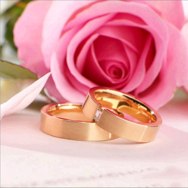 3D Diy картина, вышитая бисером комплект алмазов вышивка пара кольцо розы мозаики Свадебные украшения наклейки подарок