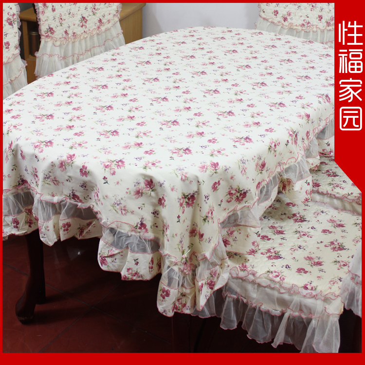 58 series classic charm of water rustic table cloth tablecloth chair cover cushion