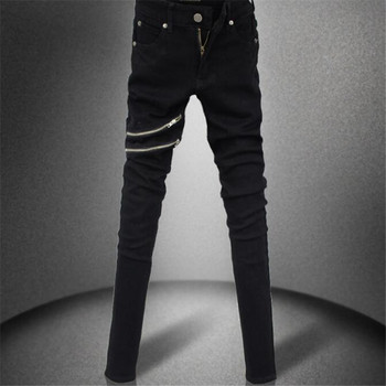 Streetwear hip-hop men jeans 1