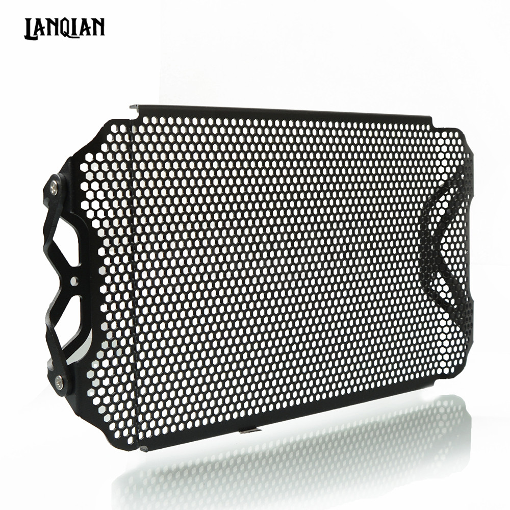 Aluminum For YAMAHA MT09 FZ09 Tracer 2013-2018 Motorcycle Radiator Guard Cover Grille MT-09 MT FZ 09 2014 2015 2016 2017 2018 arashi 1 pair air intake inlet guard cover protector for yamaha mt 09 mt09 fz 09 2014 2015 2016 5 colors
