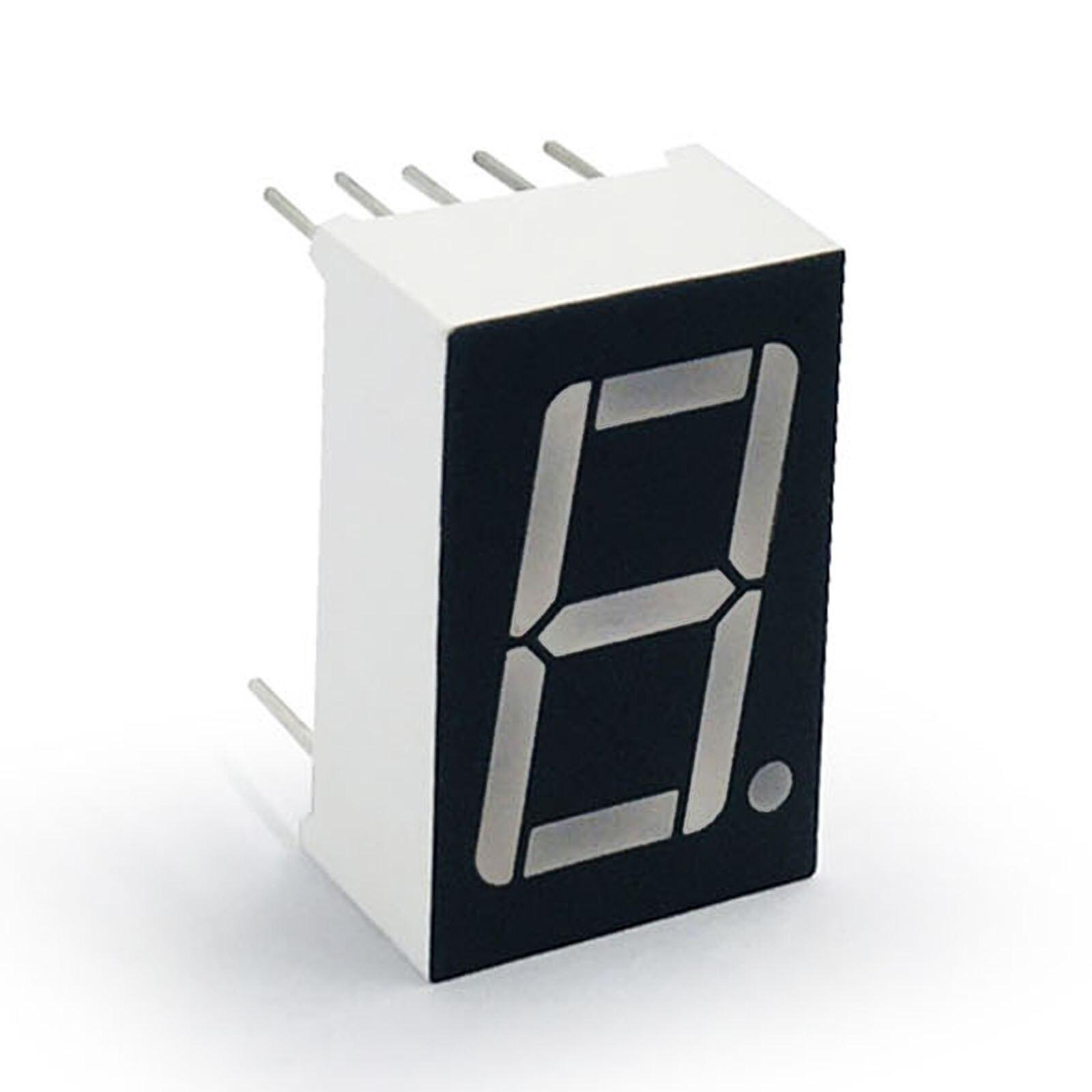 """5 Stücke Rote Led-Anzeige Digitale Röhre Gemeinsame Anode 3 Bit 0,56 /""""Ic Neue uv"""