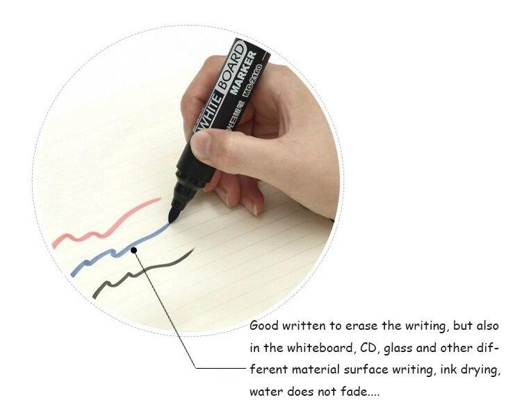 apagável caneta azul preto vermelho mudança Bloco