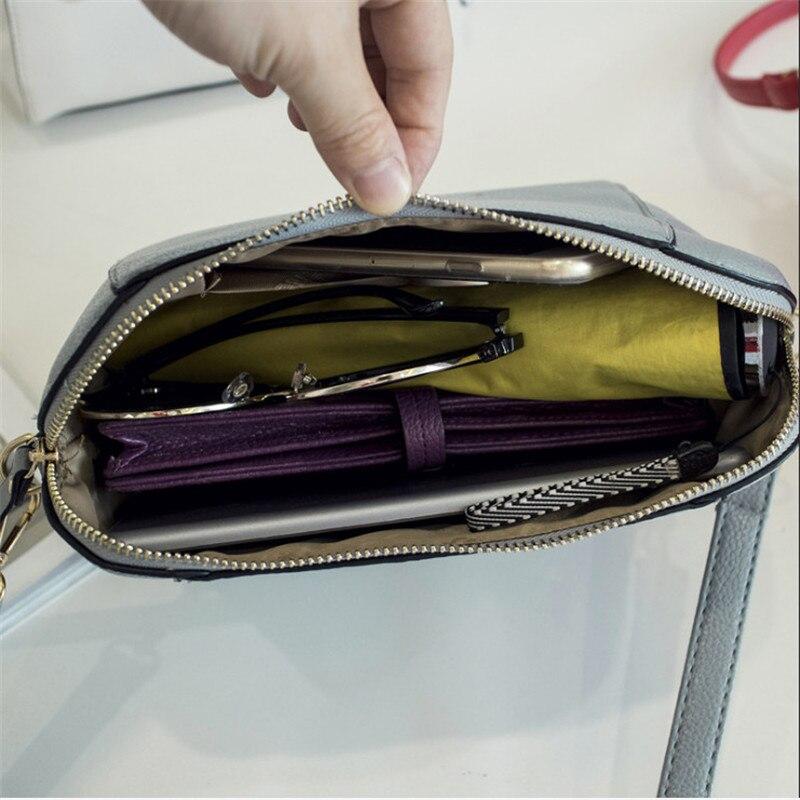 Trendy Japanese and Korean simple shell bag Fashion matches everything female bag small bag single shoulder Messenger bag 33