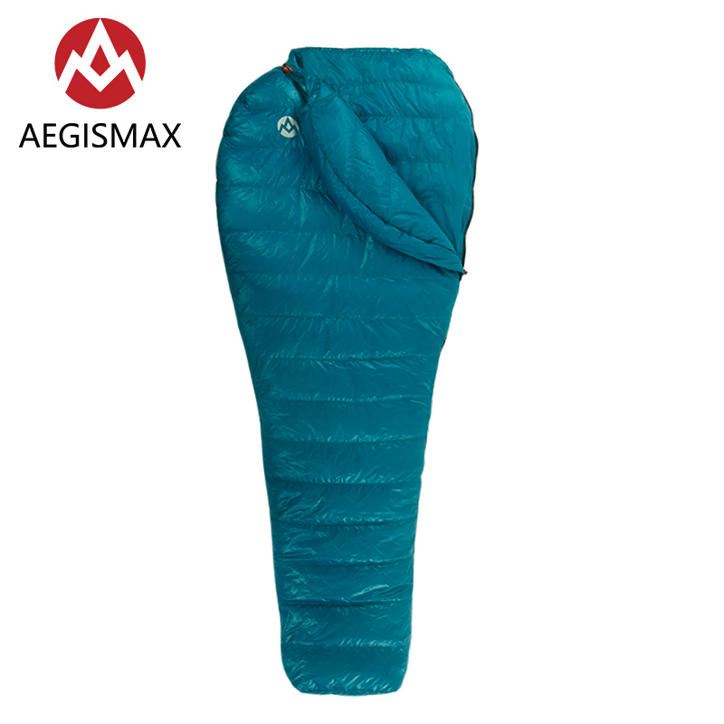 AEGISMAX 2018 New Arriveal Mummy Sleeping Bag Outdoor Camping Hiking Ultralight Goose Down Spring Autumn Sleeping Bags Nano2 gazelle outdoors apply spring autumn winter camping outdoor mummy sleeping bags