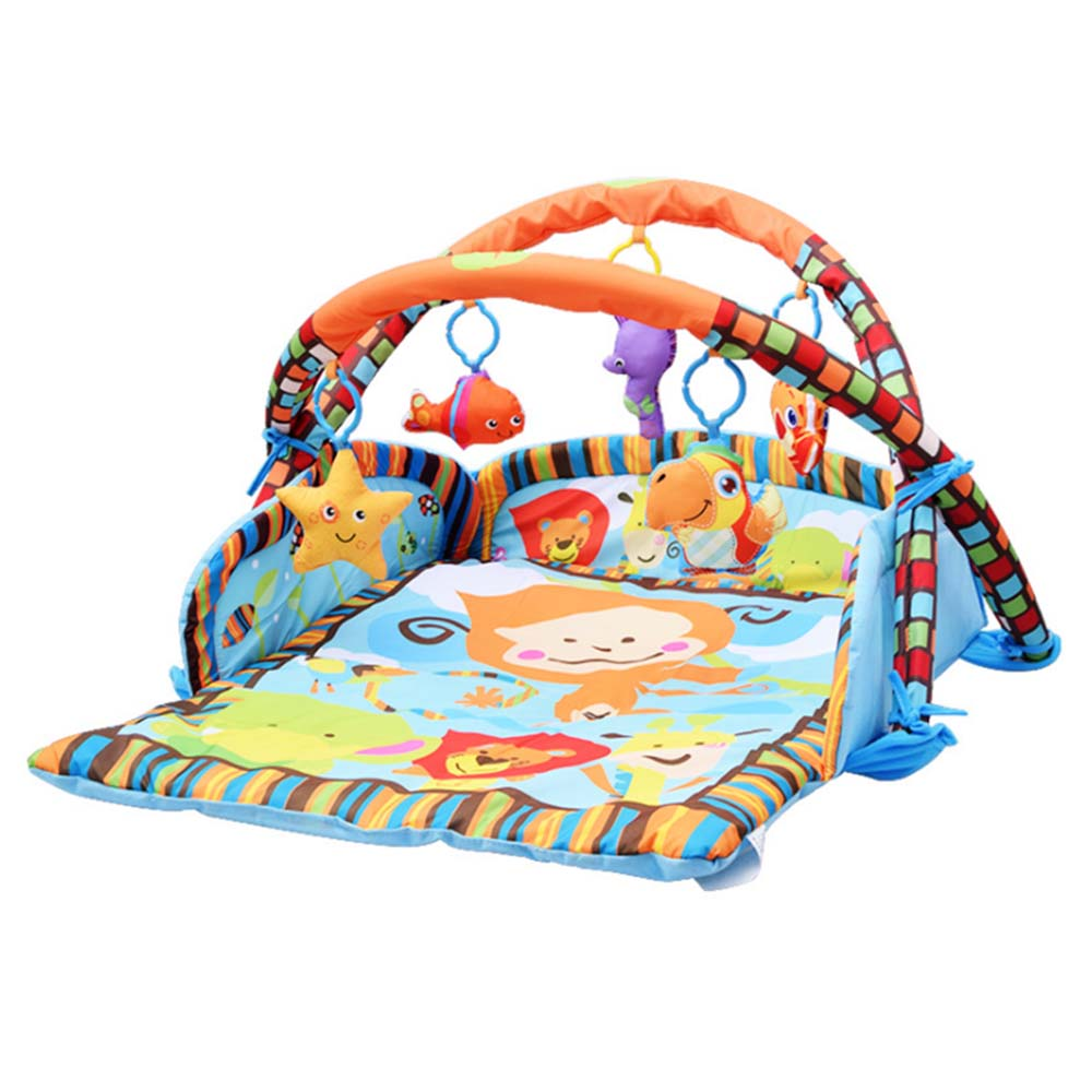 Cartoon Soft Baby Game Mat Playing Carpet Infant Kids Fitness Frame Gym Mat Rattle Crawling Crawling Playmat Floor ParadiseCartoon Soft Baby Game Mat Playing Carpet Infant Kids Fitness Frame Gym Mat Rattle Crawling Crawling Playmat Floor Paradise