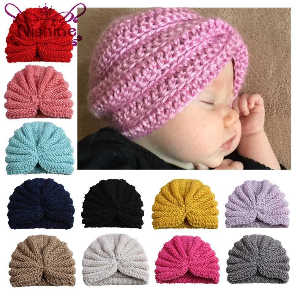 Nishine новые девушки индия шляпа детские зимние штаны шапочка шапки детские вязаные