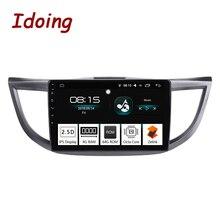 Idoing 10,2 «4 г + 64 г 8 ядерный автомобиль Android 8,0 Радио мультимедийный плеер для Honda CRV 2012-2015 gps навигация ГЛОНАСС 2.5D ips экран