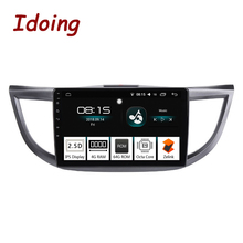 "Idoing 10.2 ""4G + 64G 8 Core Car Android 8.0 Radio Multimedia Player Per Honda CRV 2012 -2015 di Navigazione GPS Glonass 2.5D IPS Schermo"