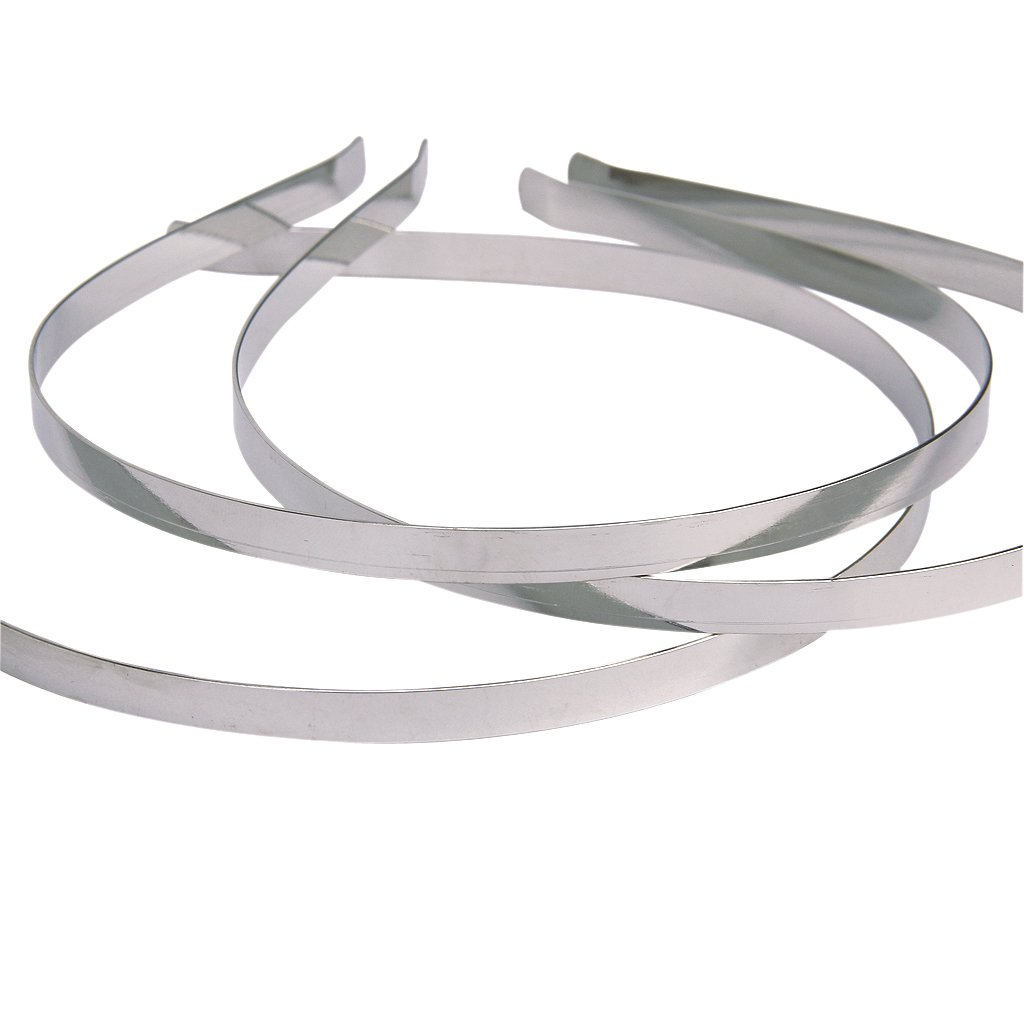 New 10Pcs Blank Headbands Metal Hair Band Lots DIY Accessories Home Daily Leisure Girlfriend Gift WOMEN HEADWEAR