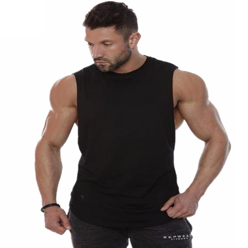 921c2c3b945 Muscular giants 2018Hot Sale Summer New Brand Mens Gyms Stringers Vest Bodybuilding  Clothing Fitness Man Undershirt Tanks Tops