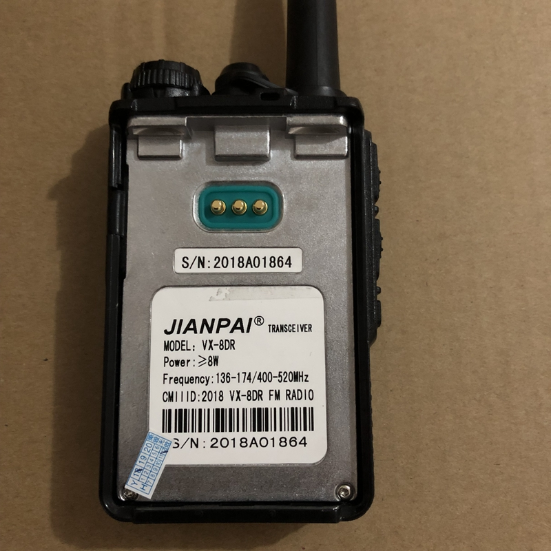 Image 3 - JianPai UV 8DR walkie talkie two way radio 136 174/400 520mhz Portable Ham CB Radio  DMR radio equipment-in Walkie Talkie from Cellphones & Telecommunications