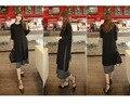Материнство Осень Зима новая коллекция весна нить хлопок большой размер длинный рукав длинный материнства платье грудное вскармливание одежда