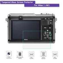 9 H закаленное Стекло ЖК-дисплей Экран протектор реального Стекло щит Плёнки для Nikon 1 aw1 Камера Интимные аксессуары