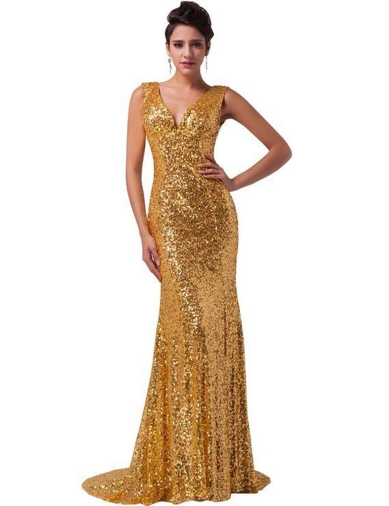 Popular Cheap Gold Prom Dresses-Buy Cheap Cheap Gold Prom Dresses ...