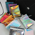 Designer Hologram fashion Card Wallet Name ID Credit Card Holder Keeper Organizer mini bag