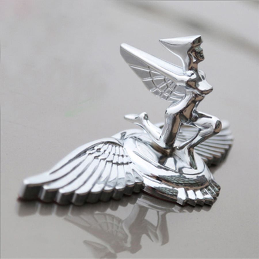 Styling Car Statue of Liberty Front Bonnet Badge Eagle Base Hood Stand Emblem Beauty Sticker for Coralla Crown Camry Civic Accor in Car Stickers from Automobiles Motorcycles