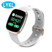 LYKL GT103 спортивные музыкальные часы IP67waterproof сердечного ритма приборы для измерения артериального давления фитнес трекер мониторы управление
