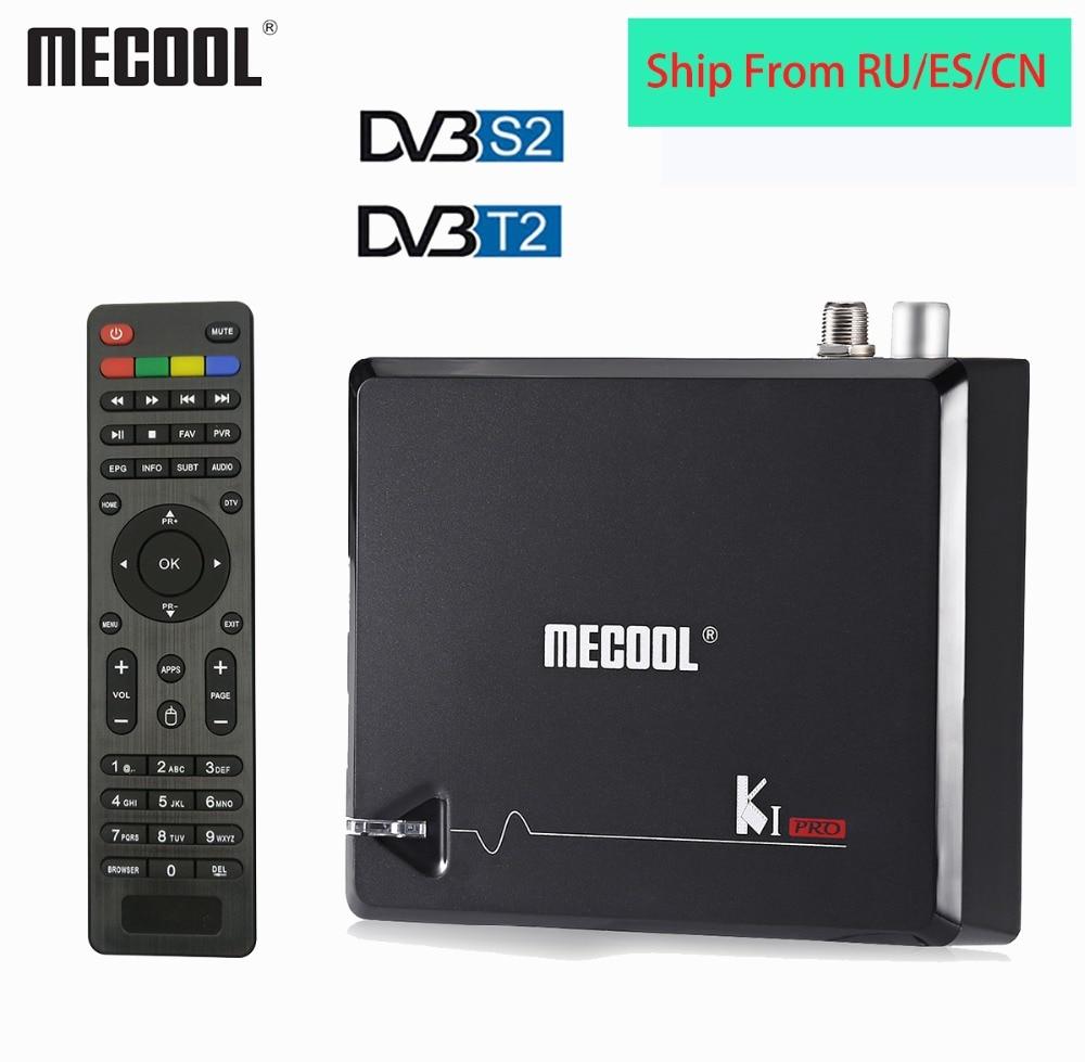 Mecool KI PRO DVB T2 Android Smart TV Box DDR4 2GB 16GB DVB T2 S2 Android