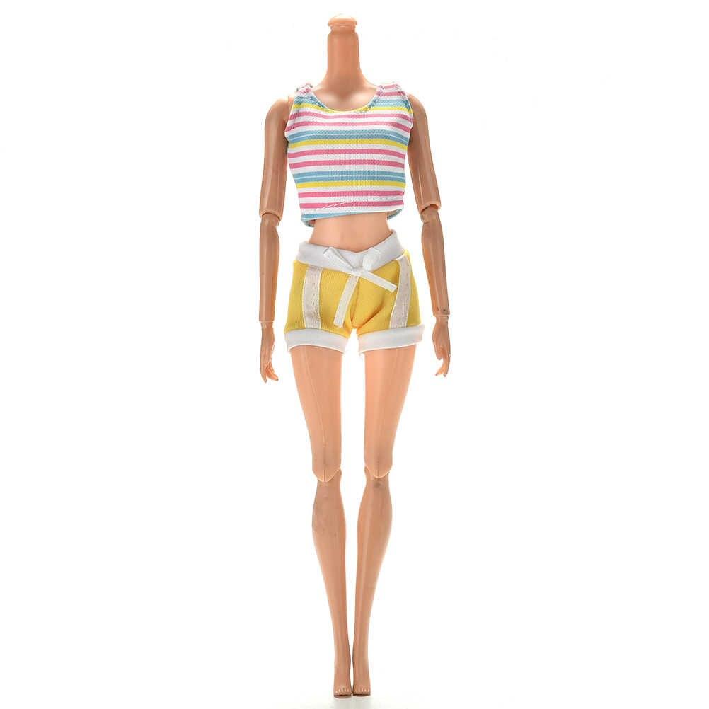 2 предмета/1 комплект, летние хлопчатобумажной ткани майки костюм для детей с круглым вырезом, для девочек Повседневные спортивные костюмы одежда для детей аксессуары для зимней верхней одежды