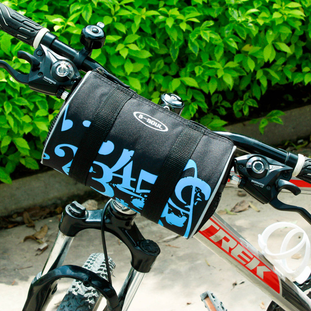 B Soul Bike Front Bag Cycling Mtb Bicycle Road Frame Handlebar Basket Waist