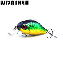 1PCS Swim Wobblers Crank Fishing Lure 8.5g 5.8cm Hard bait Bass Spinner Artificial Fishing Lures 5 Colors Pesca fishing tackle