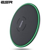 ESR QI Caricatore Senza Fili 10W Ultra Sottile 7.5W Pad Mini Veloce Caricatore Senza Fili per iPhone 11 X XS XR MAX per Samsung Nota 8 S9 S8 S7