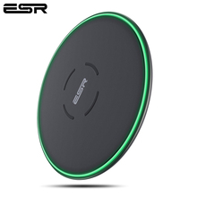 ESR QI Wireless Charger 10W Ultra Thin 7.5W Pad Mini Fast Wireless Charger for iPhone 11 X XS XR MAX for Samsung Note 8 S9 S8 S7
