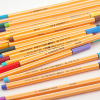 10 Pcs Lot Cute Kawaii Gel Pen Germany Caneta Stabilo Pen Material Escolar Sketch School Supplies