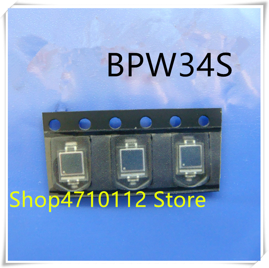 NEW 10PCS/LOT BPW34 BPW34S VBPW34S PIN Photodiode SMD Wavelength 940nm Silicon