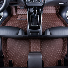 WLMWL Car Floor Mats For Toyota all models rav4 wish land cruiser vitz mark auris prius camry corolla covers Car Carpet Covers опрыскиватель gardena 00814 30 000 00